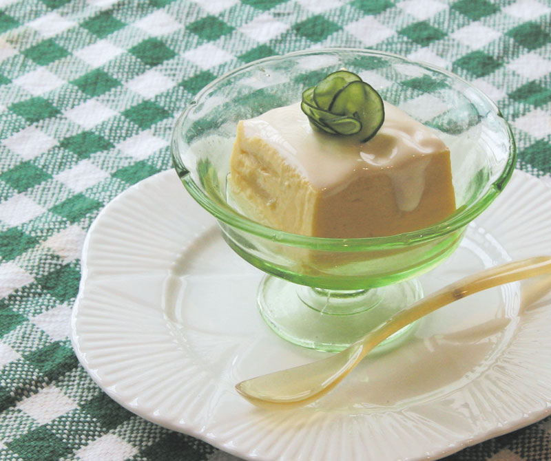 アスパラ豆腐